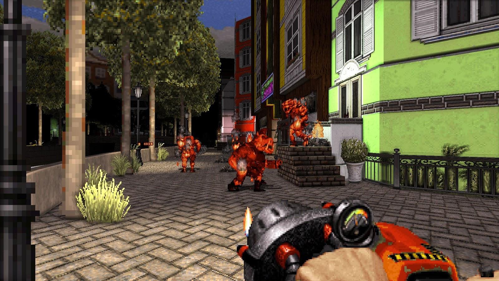 История дизайна уровней Duke Nukem (с эскизами Левелорда) - 14