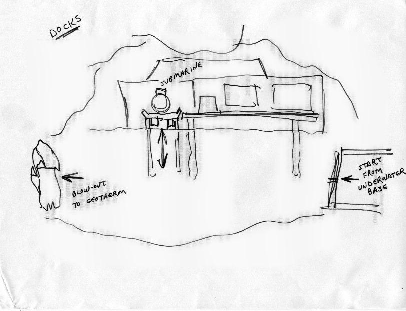 История дизайна уровней Duke Nukem (с эскизами Левелорда) - 16