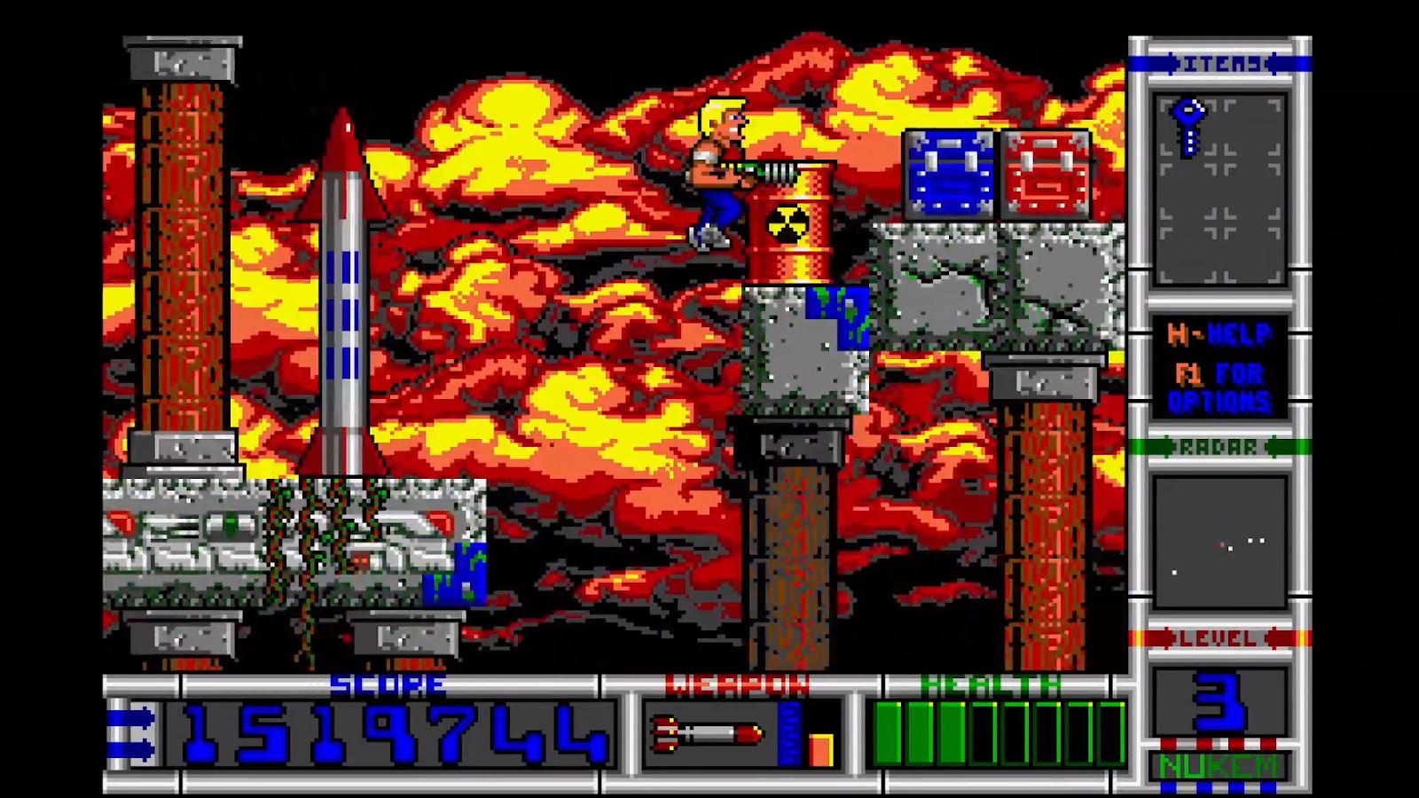 История дизайна уровней Duke Nukem (с эскизами Левелорда) - 6