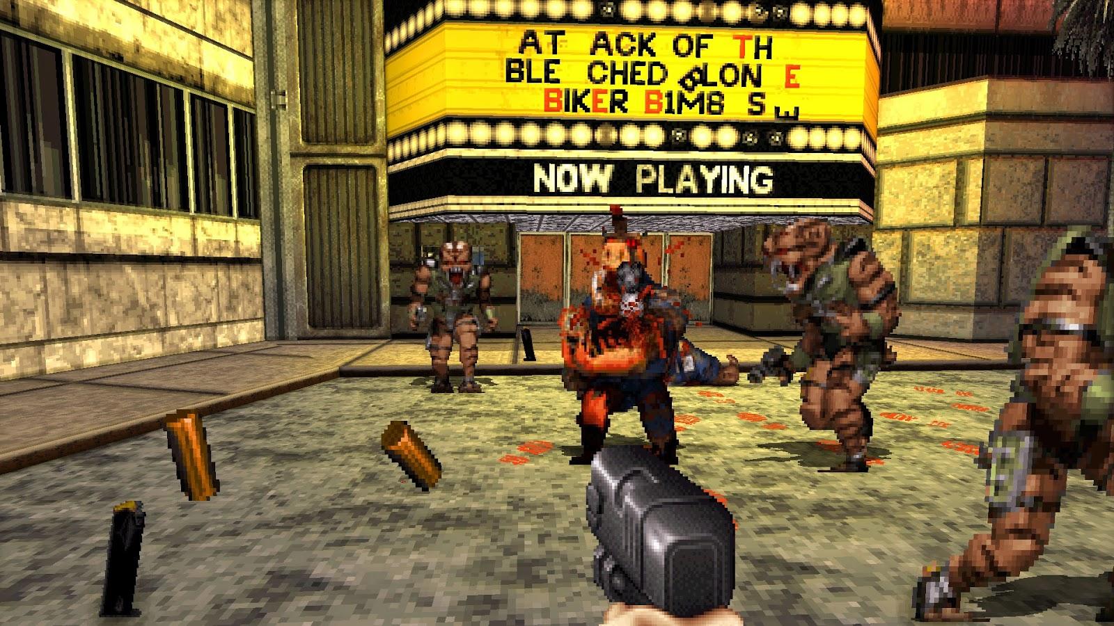 История дизайна уровней Duke Nukem (с эскизами Левелорда) - 9