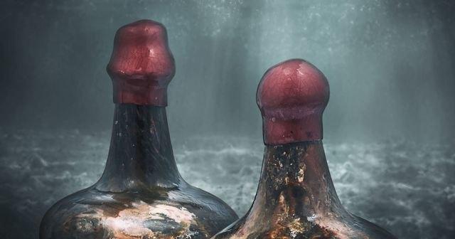 Вино с древнего затонувшего судна выставлено на продажу