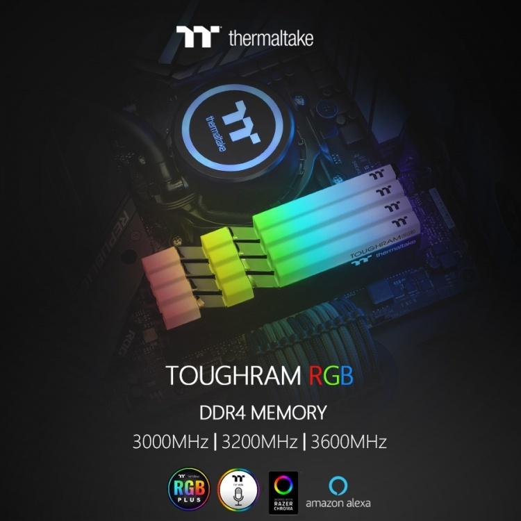 Computex 2019: Thermaltake представила оперативную память TOUGHRAM RGB и TOUGHRAM