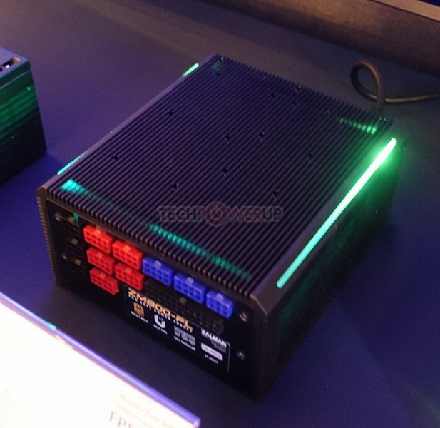 Zalman ZM800-FL — самый мощный пассивный блок питания на рынке