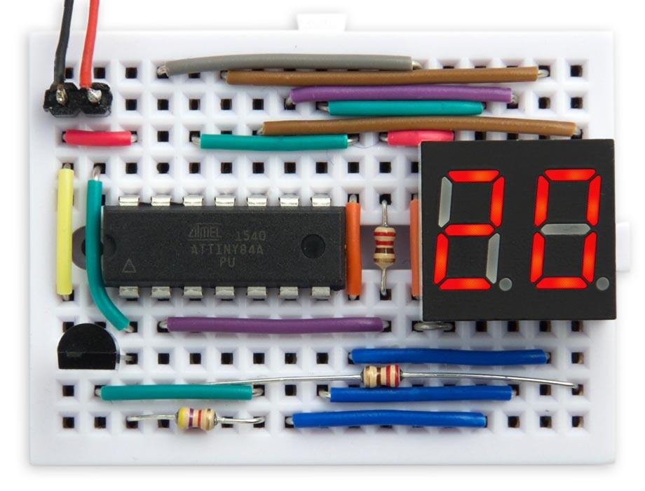 Двухразрядный термометр - 3