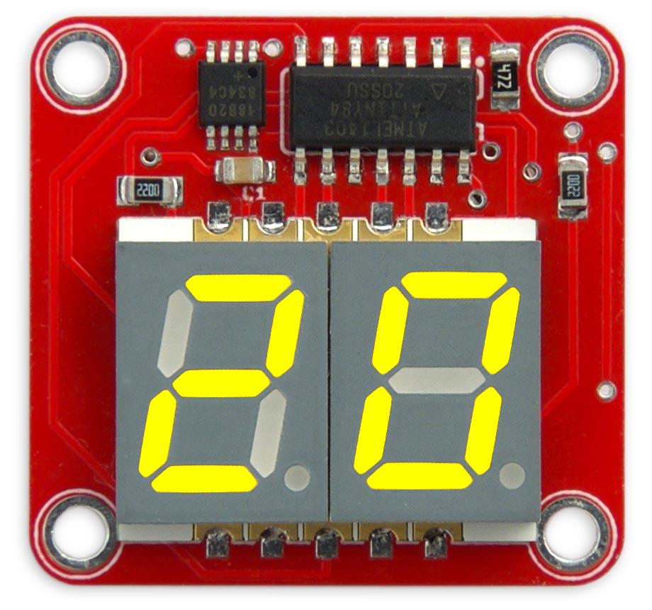 Двухразрядный термометр - 4
