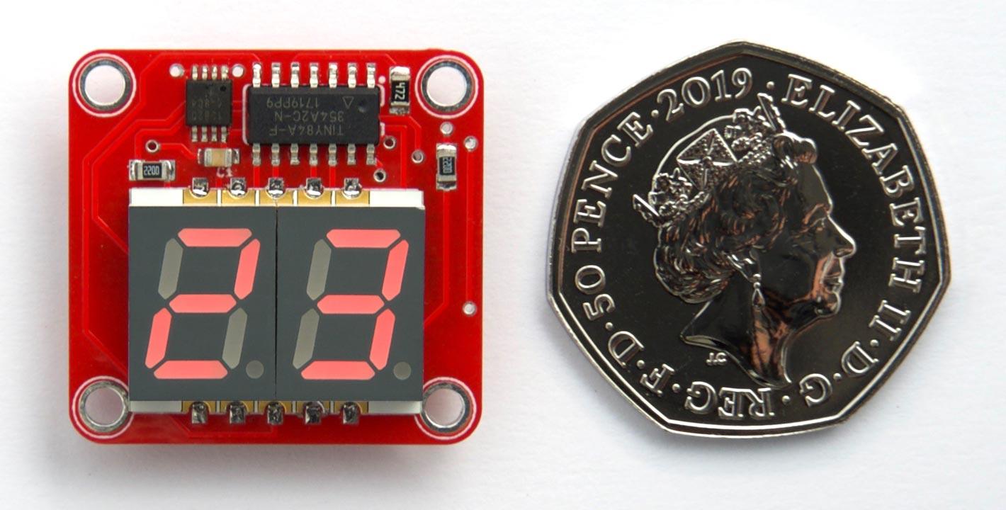 Двухразрядный термометр - 1