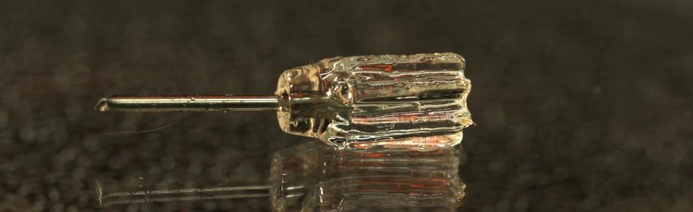 Фотополимерный 3D-принтер из бытового видеопроектора создает объекты без слоев - 2