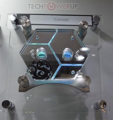 Компания Bitspower показала на Computex 2019 концептуальные водоблоки
