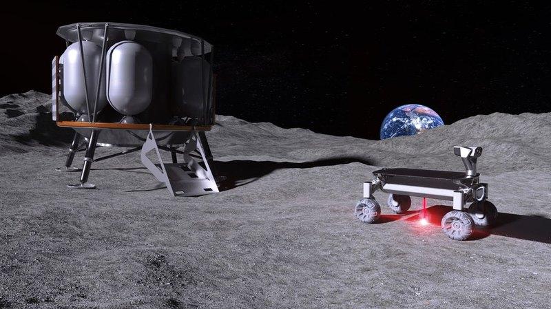 На Луну доставят лазерную 3D-печать