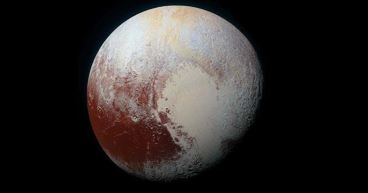 Аммиак на Плутоне указал на возможный жидкий океан под поверхностью