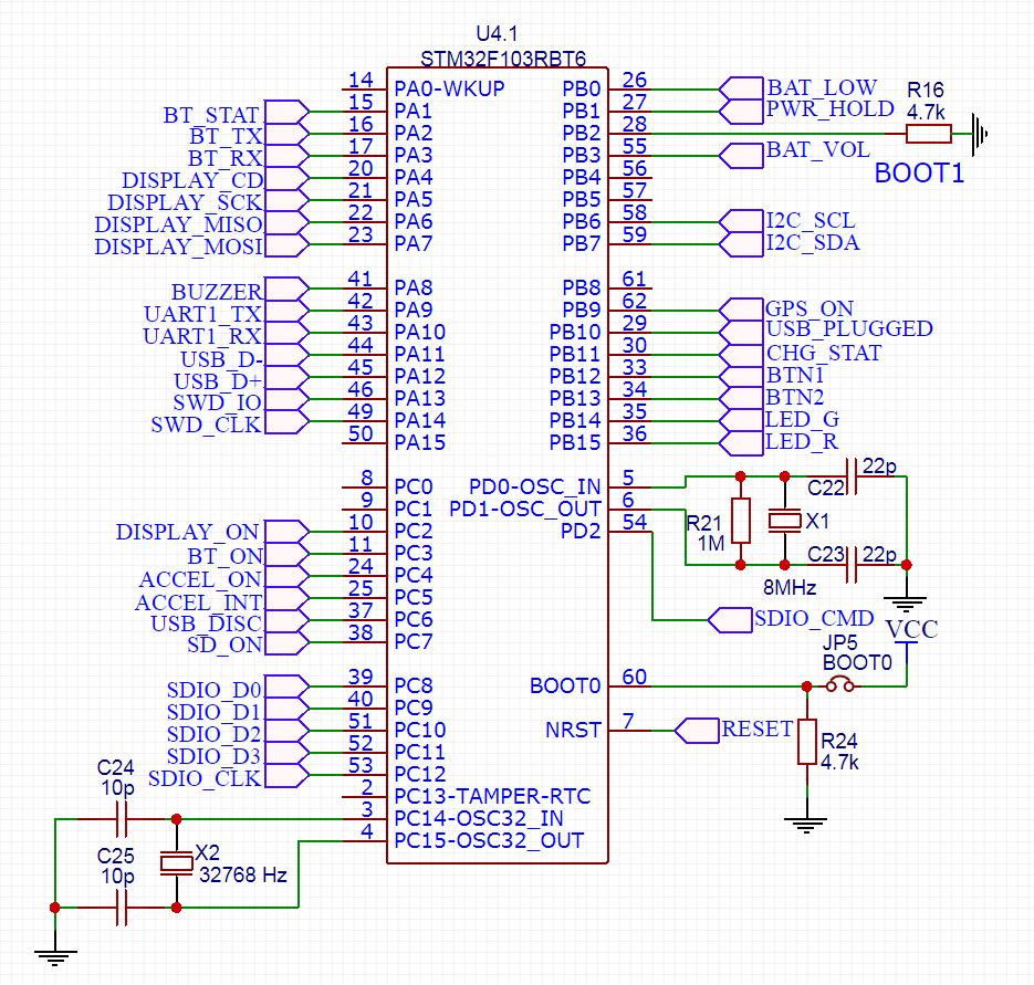 КПК (Карманный Путевой Компьютер): Схемотехника GPS логгера - 14
