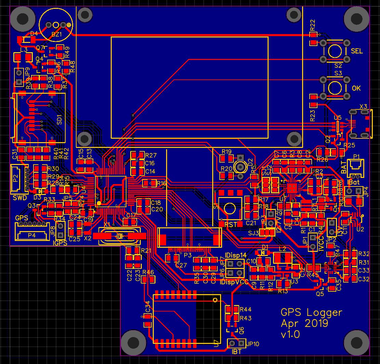 КПК (Карманный Путевой Компьютер): Схемотехника GPS логгера - 28