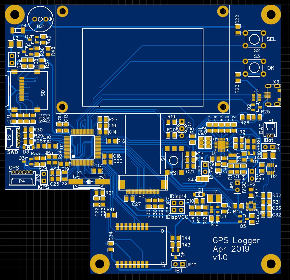 КПК (Карманный Путевой Компьютер): Схемотехника GPS логгера - 30
