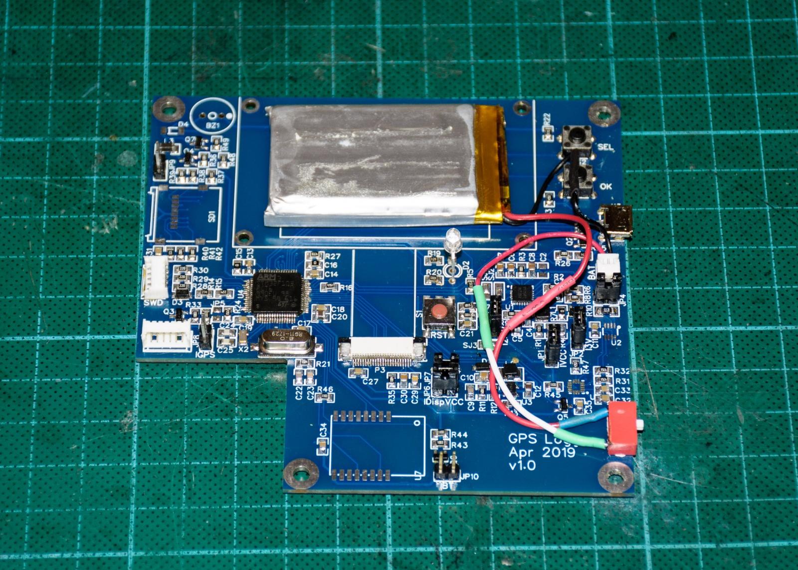 КПК (Карманный Путевой Компьютер): Схемотехника GPS логгера - 32