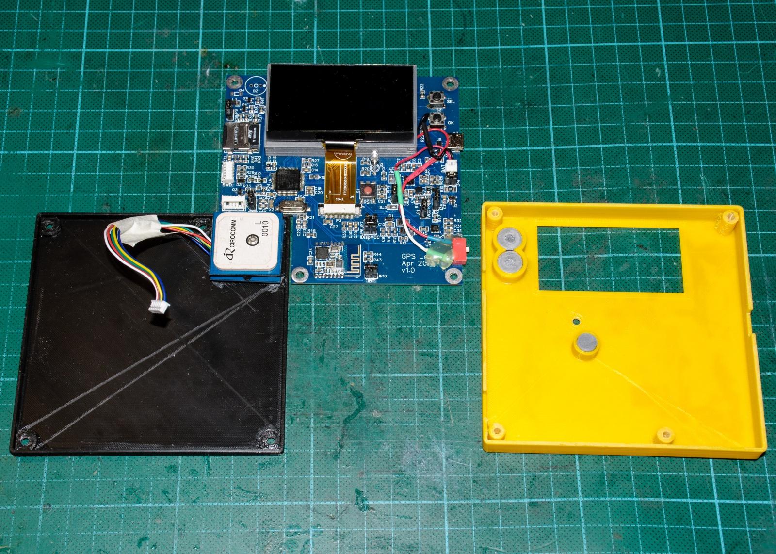 КПК (Карманный Путевой Компьютер): Схемотехника GPS логгера - 33