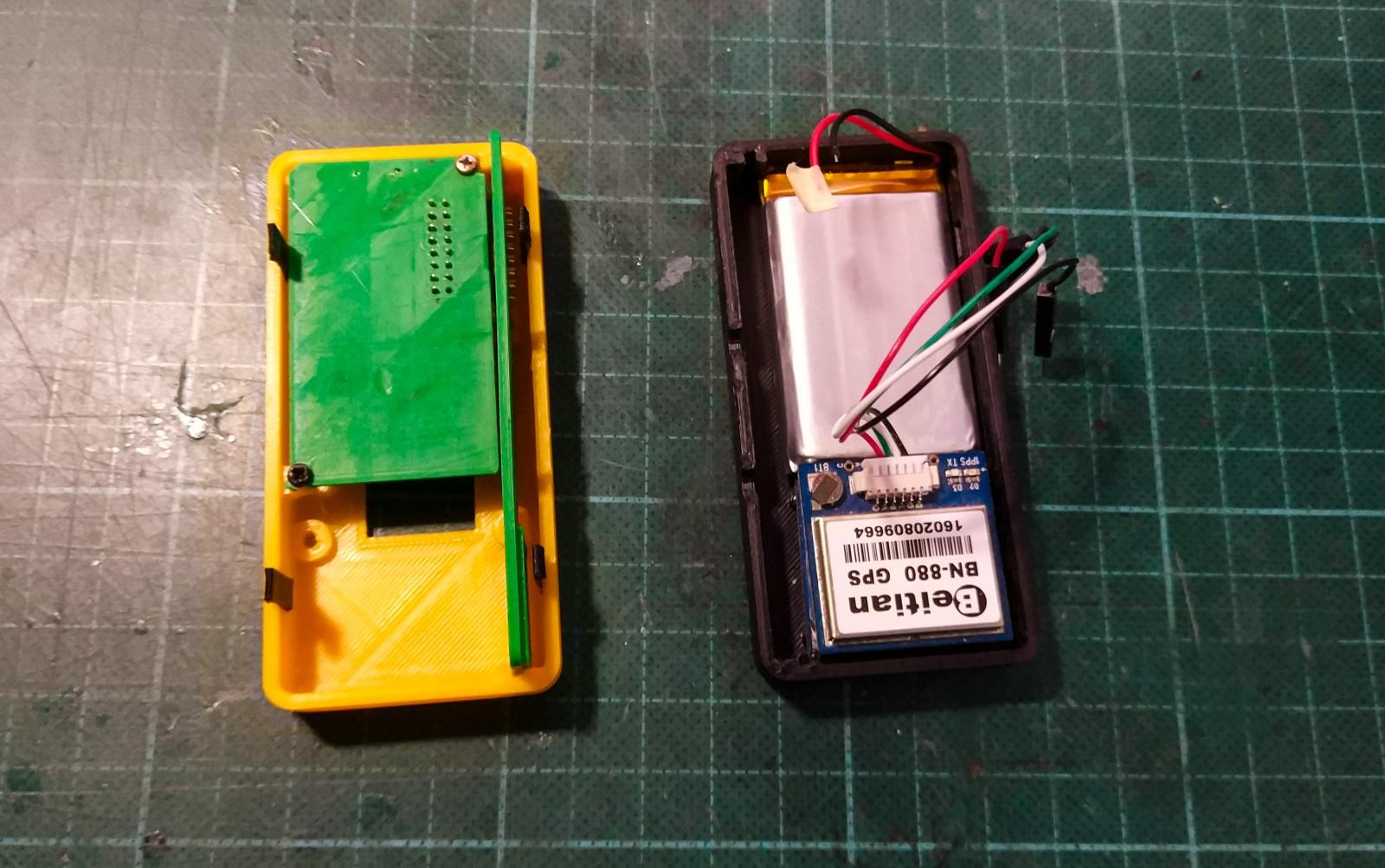 КПК (Карманный Путевой Компьютер): Схемотехника GPS логгера - 5