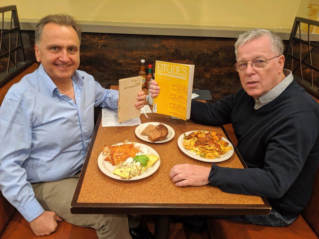 Отчет с завтрака с Чарльзом Уэзереллом, автором культовой книги «Этюды для программистов» - 1