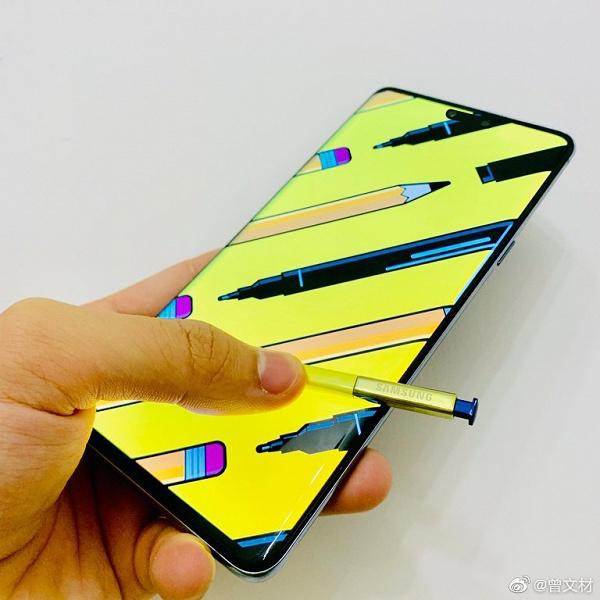 Реалистичные изображения Samsung Galaxy Note10