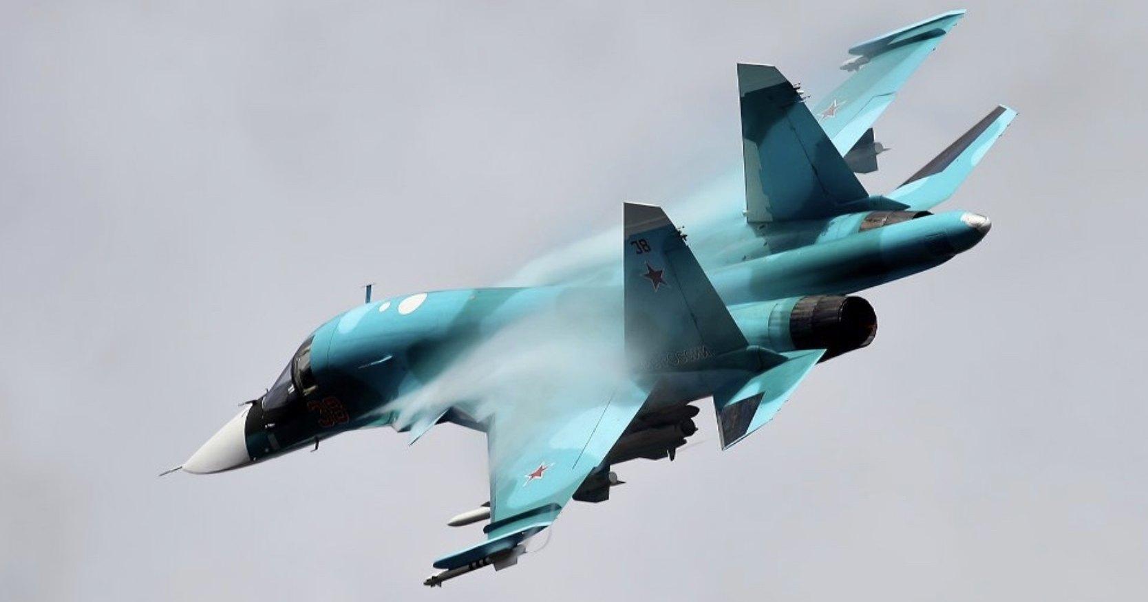 Су-34 похвастались ракетным ударом: видео