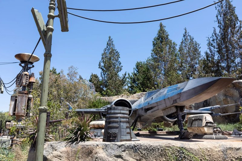 10 потрясающих фотографий нового тематического парка по «Звездным войнам»
