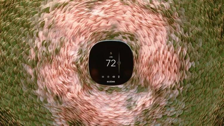 Ecobee анонсировала новый умный термостат New  SmartThermostat с голосовым управлением