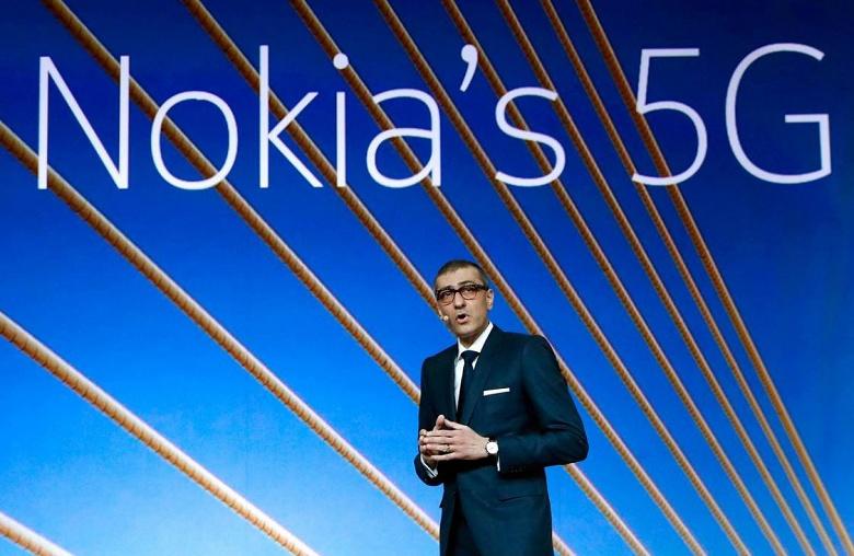 Nokia утверждает, что ей удалось опередить Huawei по заказам на оборудование 5G