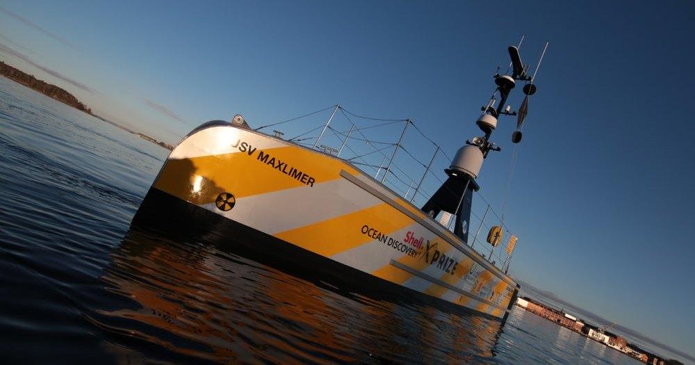 Автономное судно для картирования морского дна: победитель конкурса XPrize
