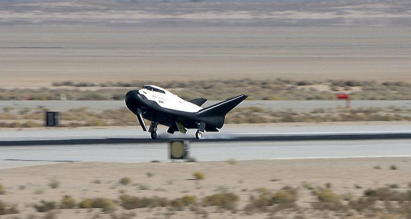 Двигатель для корабля Dream Chaser прошел публичное огневое испытание - 3