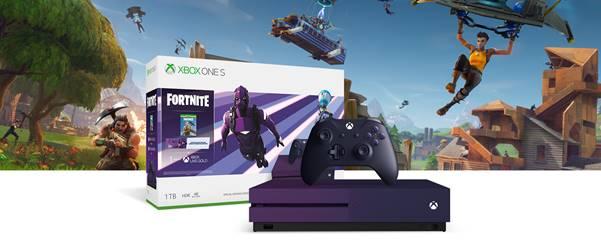 Фиолетовая консоль Xbox One S выйдет в России уже в эту пятницу