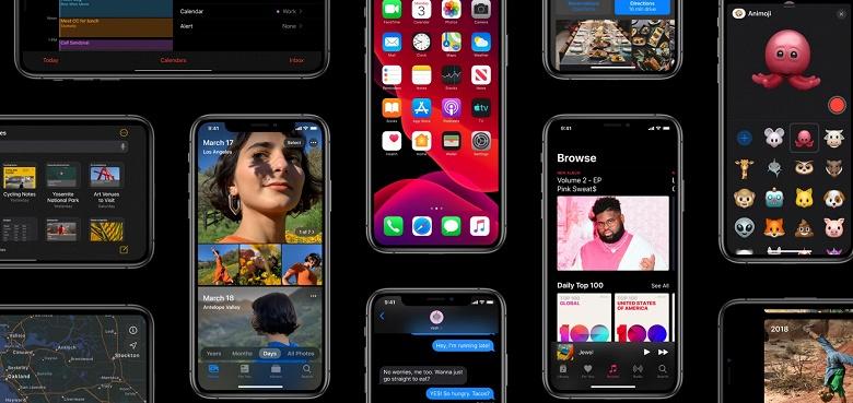 Представлена операционная система Apple iOS 13