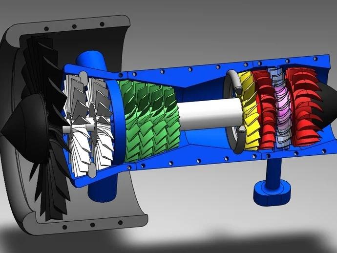 Реактивный двигатель на домашнем 3D-принтере - 1