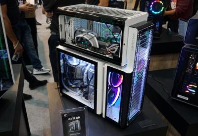 Репортаж со стенда Thermaltake на выставке Computex 2019