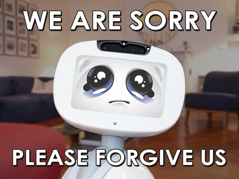 Создатели «семейного робота» Buddy просят прощения и еще денег