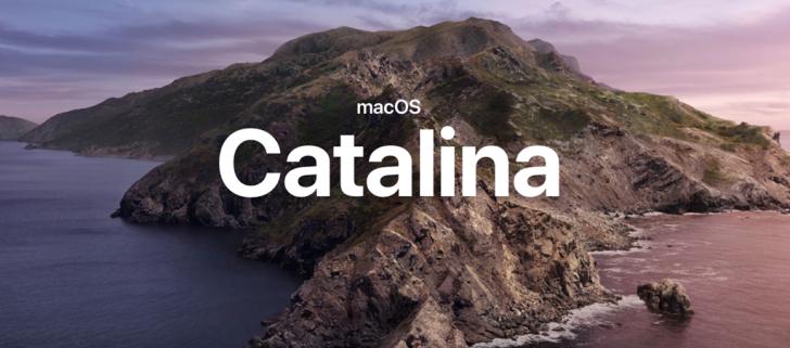 Список компьютеров и ноутбуков Apple, совместимых с MacOS 10.15 Catalina