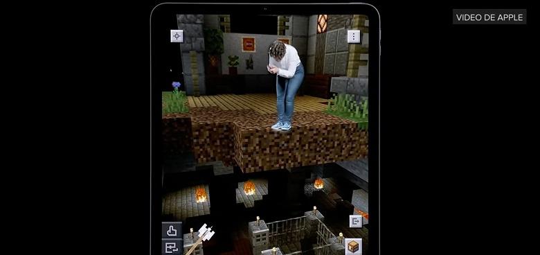 Apple провела впечатляющую презентацию игры Minecraft Earth