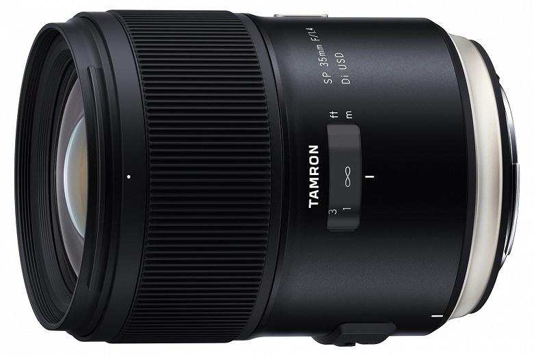 Анонсированы продажи полнокадрового объектива Tamron SP 35mm F/1.4 Di USD (Model F045) для зеркальных камер