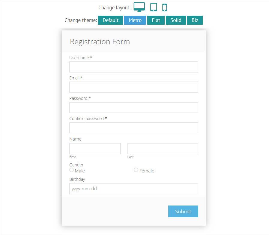 Как сделать веб-формы на сайте удобными и безопасными: инструменты разработки и конструкторы - 8