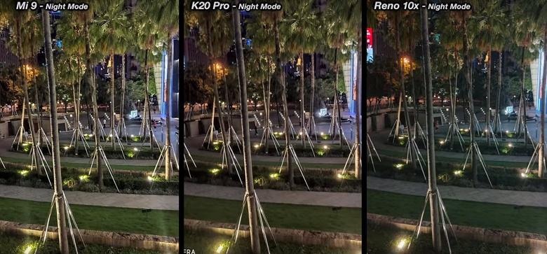 Ожидаемый тест камер Redmi K20 Pro, Xiaomi Mi 9 и Oppo Reno 10x