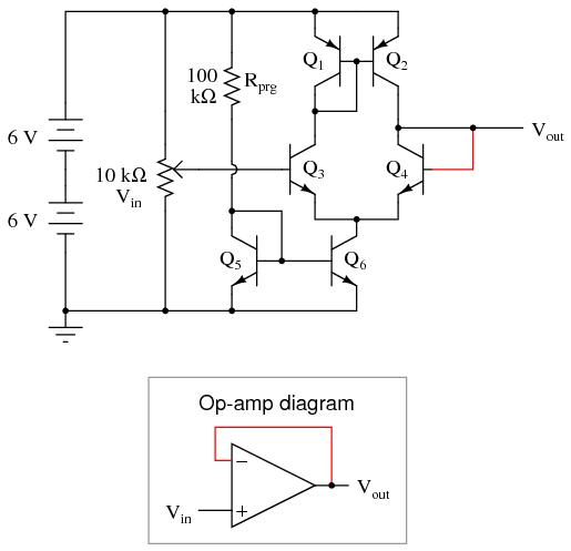 Простейший ОУ на дискретных элементах - 3