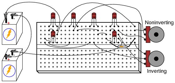 Простейший ОУ на дискретных элементах - 1