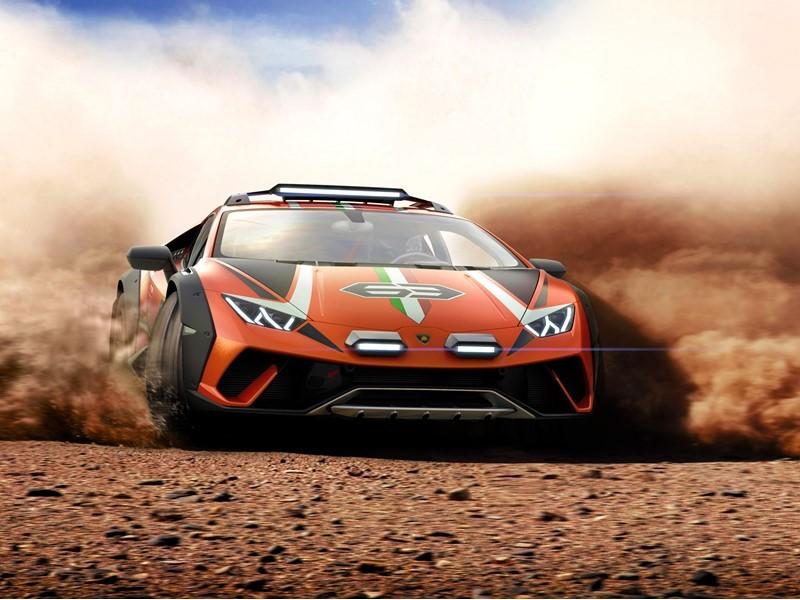 Lamborghini сделала гибрид суперкара и вседорожника - 2
