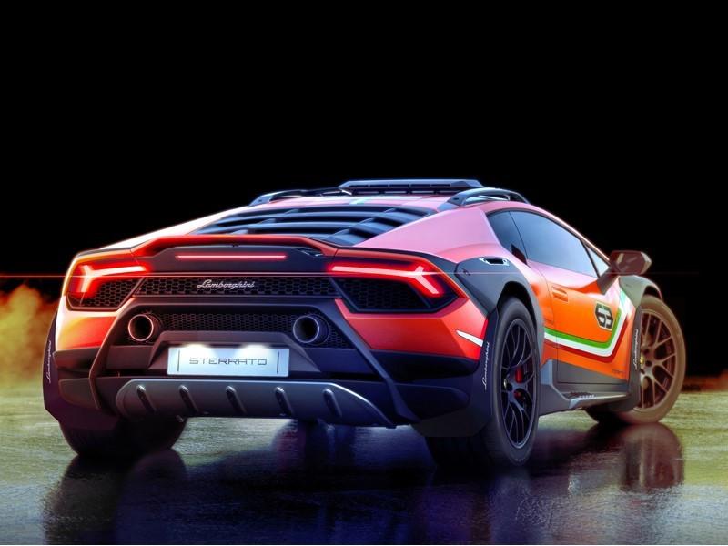 Lamborghini сделала гибрид суперкара и вседорожника - 3