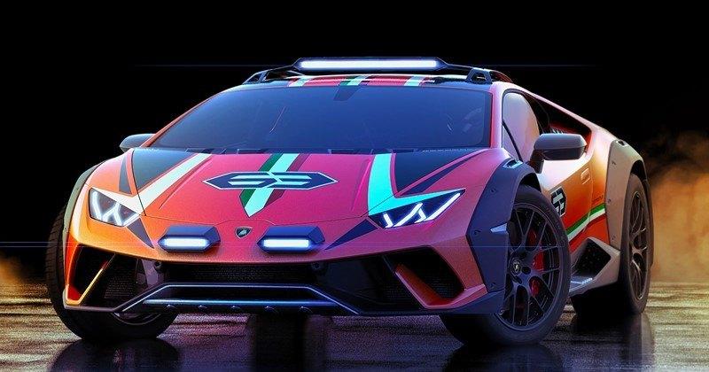 Lamborghini сделала гибрид суперкара и вседорожника