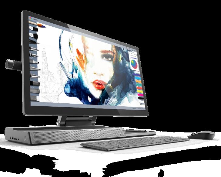 Необычный моноблок-трансформер Lenovo Yoga A940 выходит в России по цене от 130 тыс. рублей
