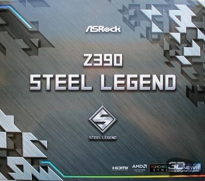Новая статья: Обзор материнской платы ASRock Z390 Steel Legend: простота не во вред