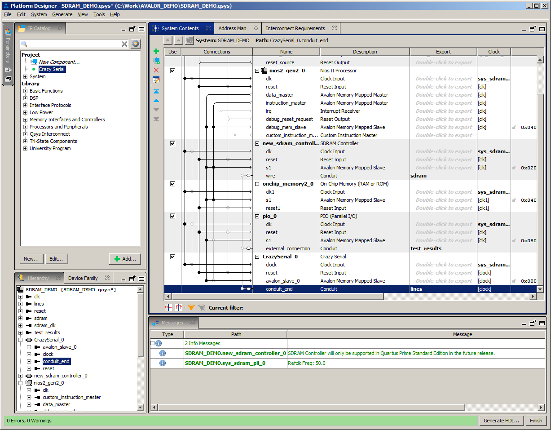 Разработка собственного ядра для встраивания в процессорную систему на базе ПЛИС - 24