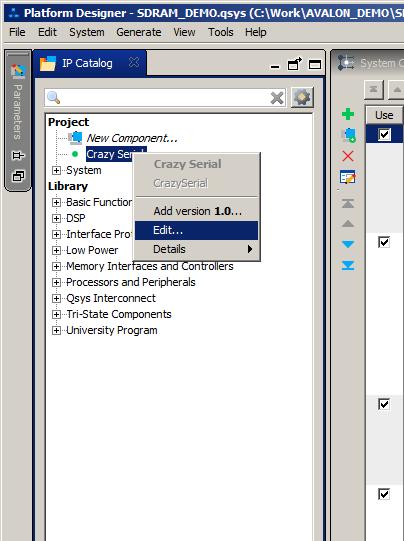 Разработка собственного ядра для встраивания в процессорную систему на базе ПЛИС - 36