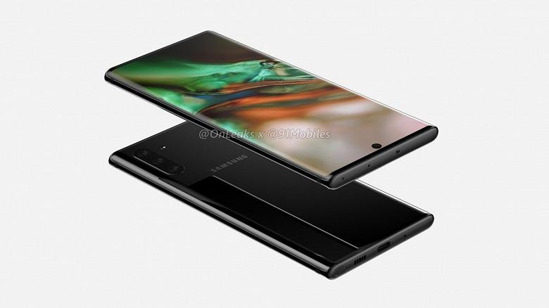 Утечка дня: планшетофон Samsung Galaxy Note10 показали во всей красе на видео и качественных рендерах