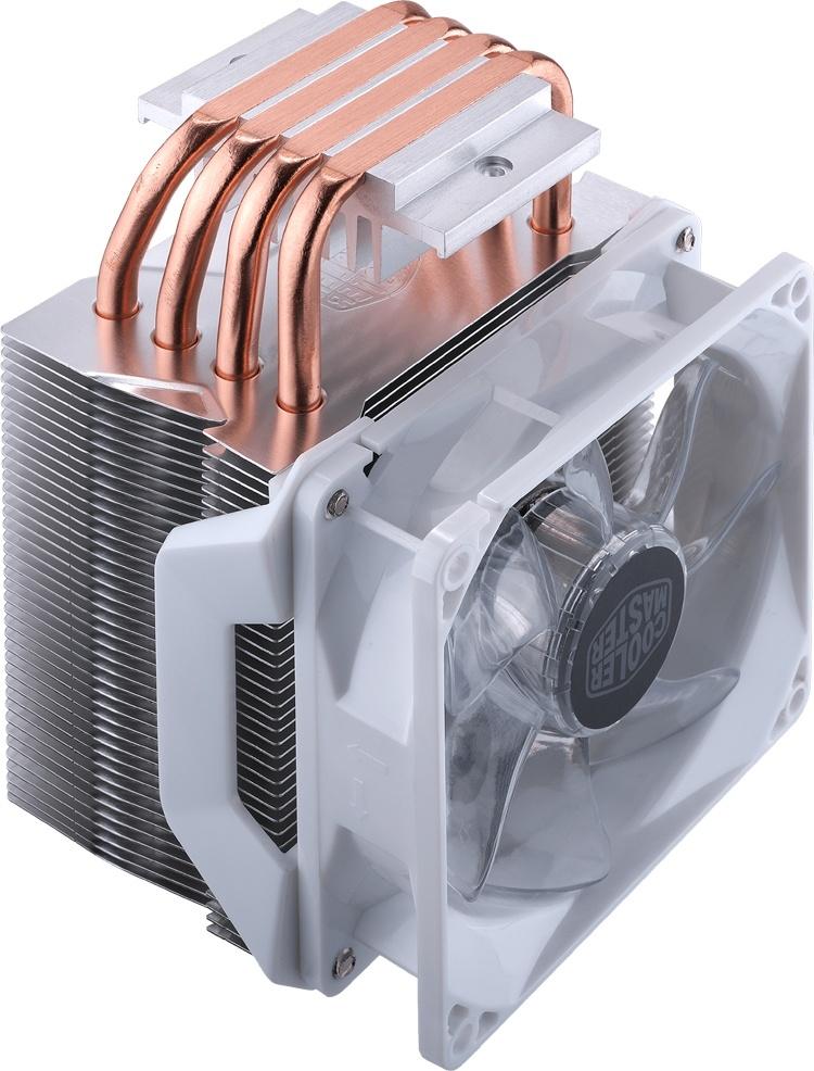 Cooler Master выпустила процессорный кулер Hyper H410R White Edition