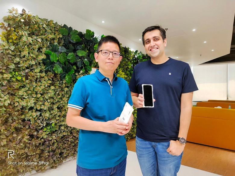 Realme планирует выпустить 5G-смартфон как можно скорее